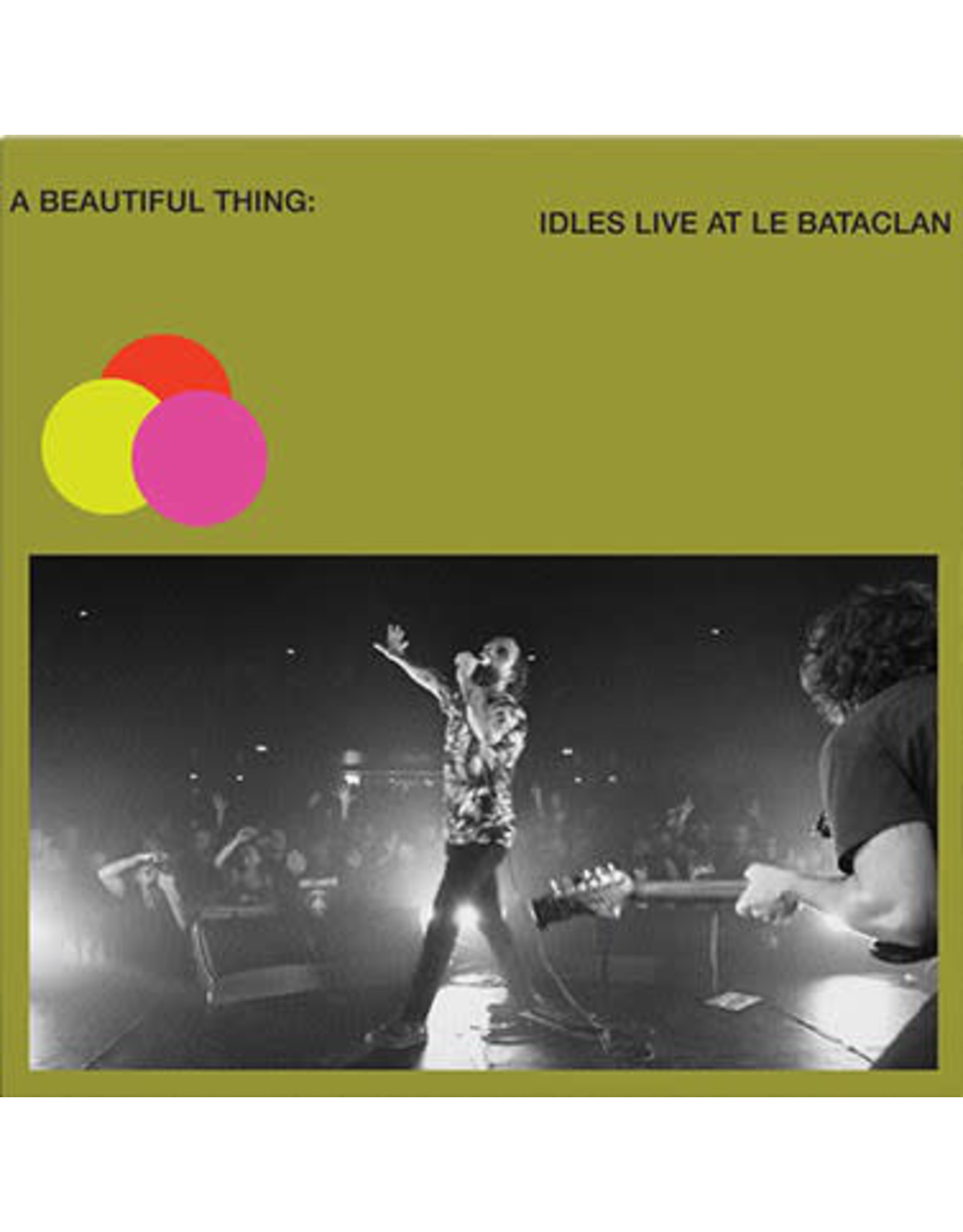 IDLES - A Beautiful Thing: Live At Le Bataclan (Neon Clear GREEN Vinyl)