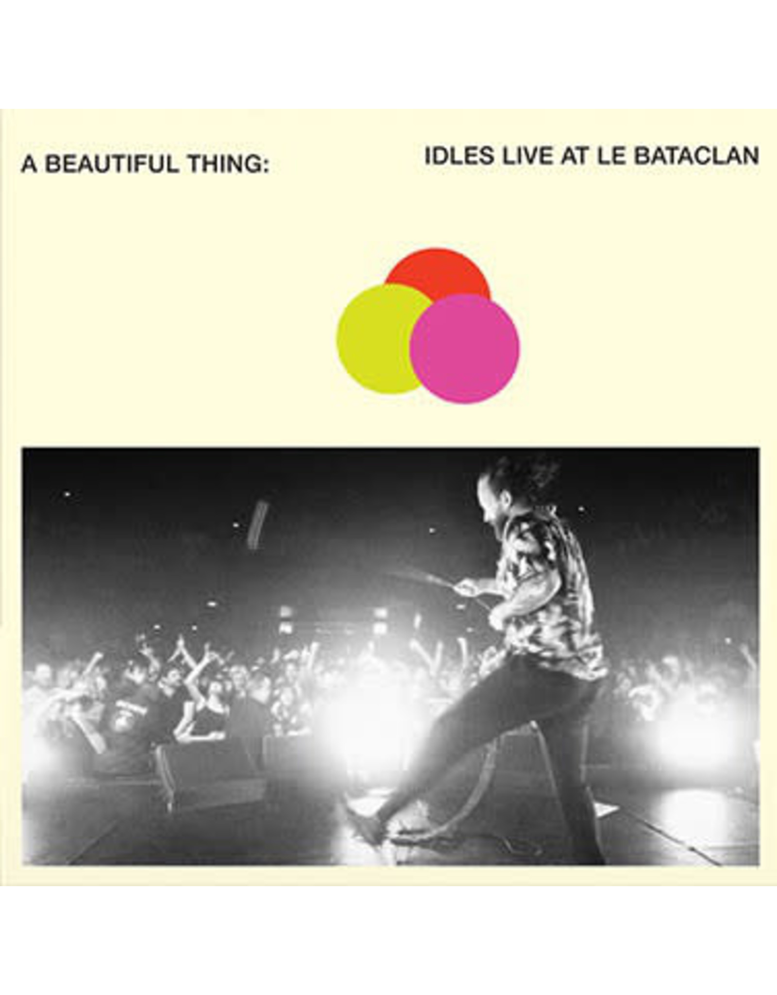 IDLES - A Beautiful Thing: Live At Le Bataclan (Neon Clear ORANGE Vinyl)