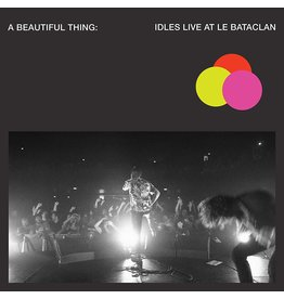 IDLES - A Beautiful Thing: Live at Le Bataclan (Neon Clear PINK Vinyl)