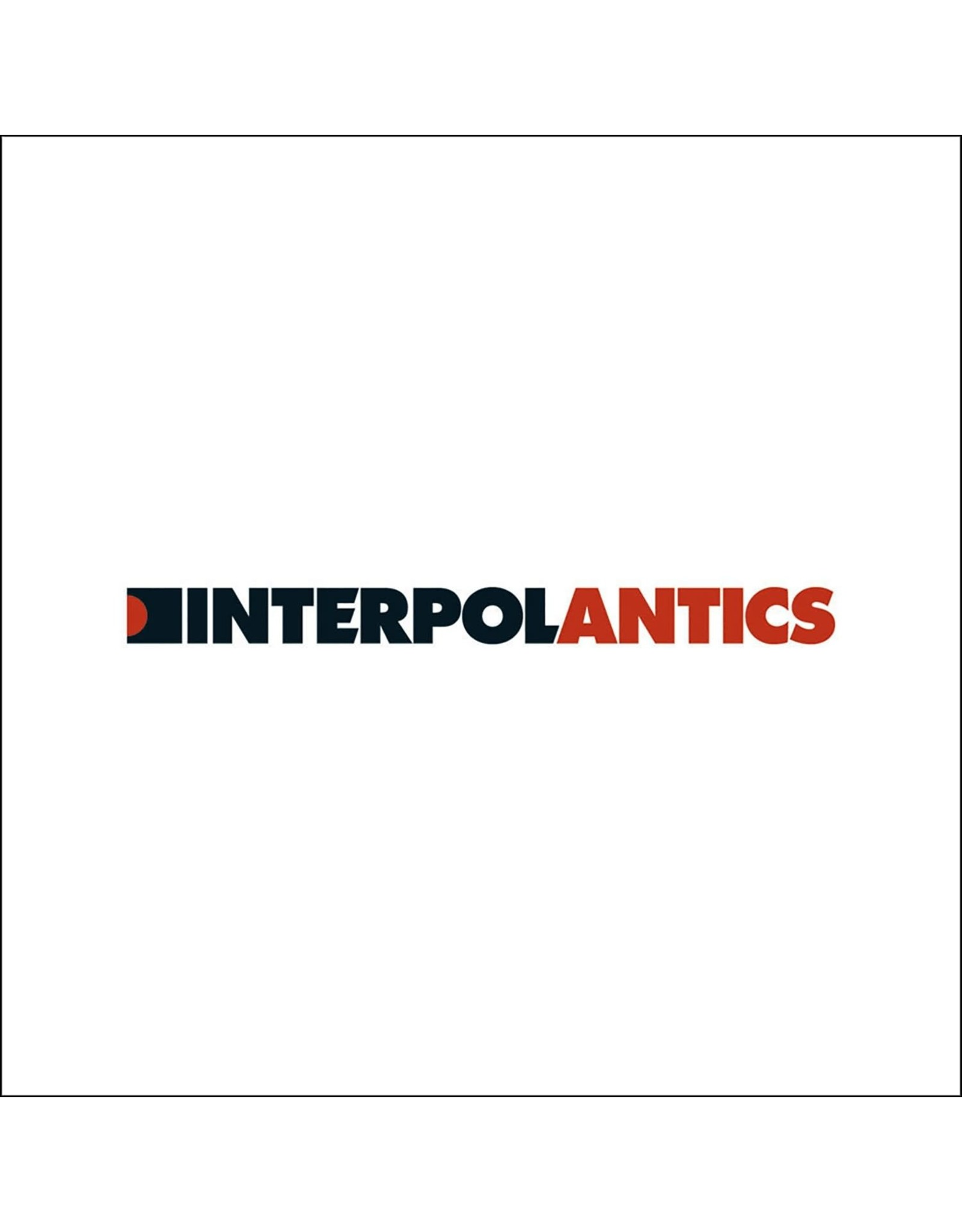 Interpol - Antics (White Vinyl)