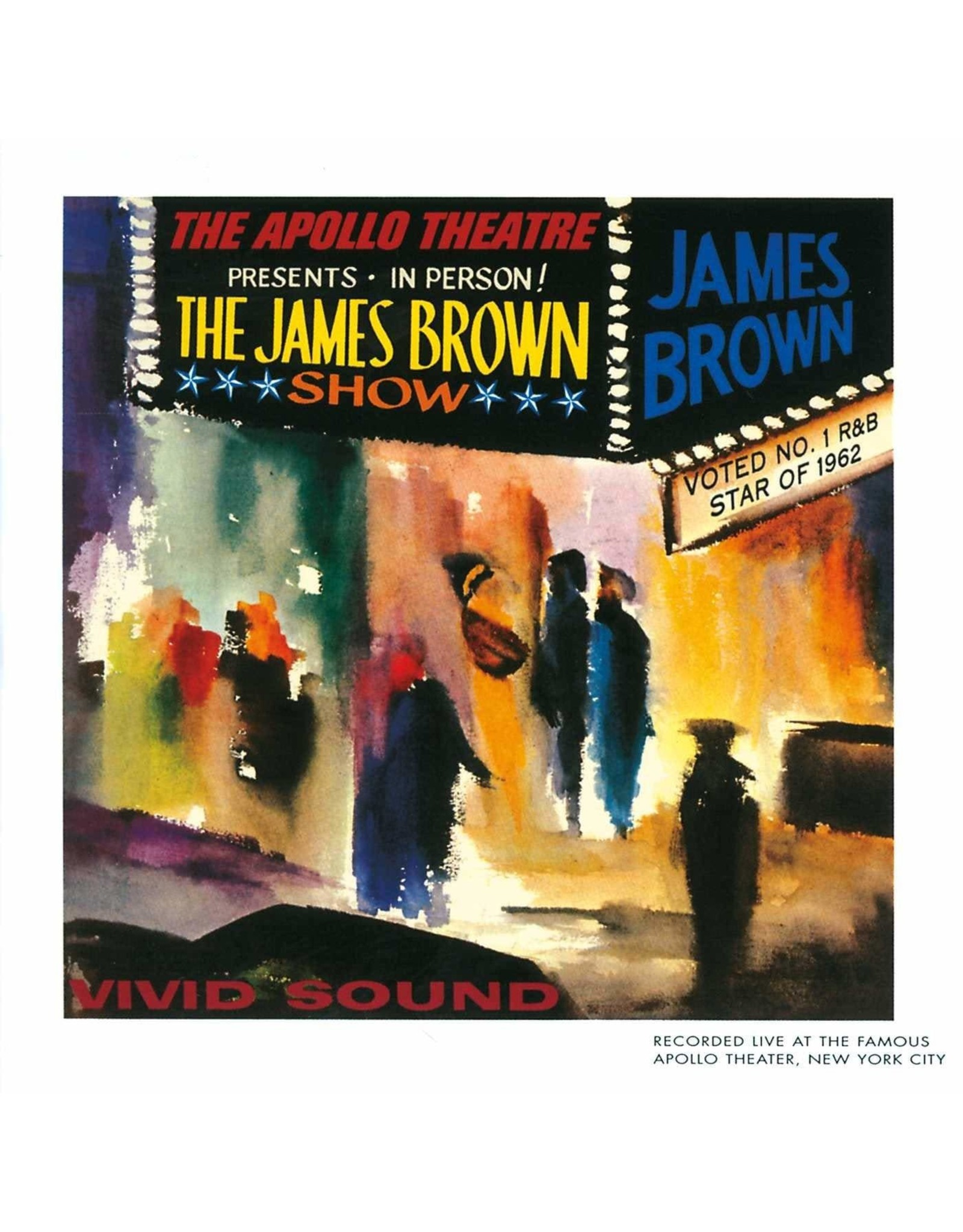 James Brown - Live At The Apollo (Colour Vinyl)