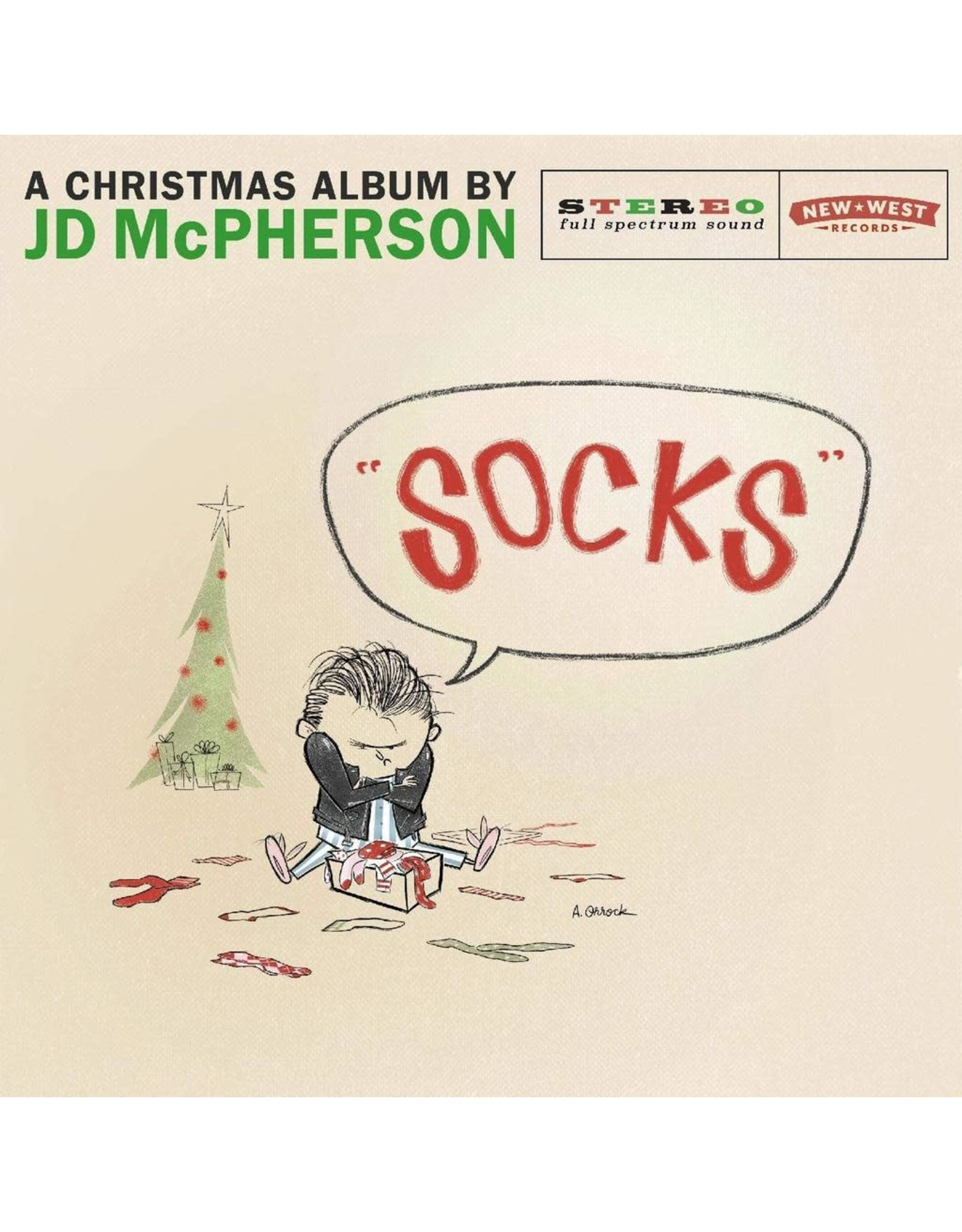 JD McPherson - Socks (Exclusive Snow Globe Vinyl)