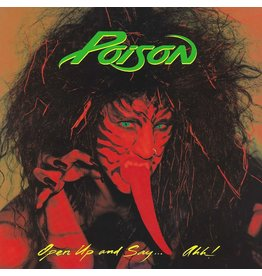 Poison - Open Up & Say... Ahh! (Red Vinyl)
