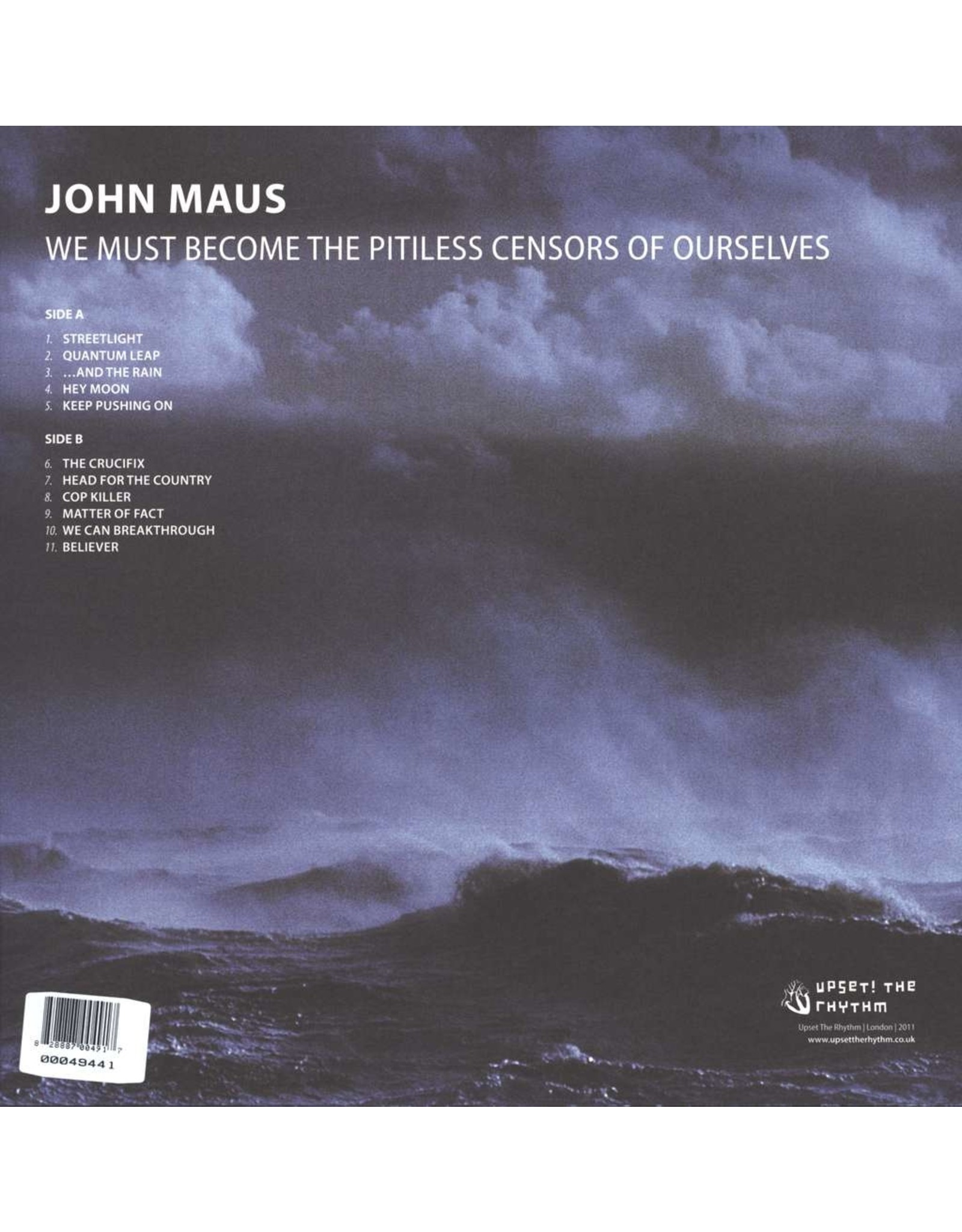 John Maus - We Must Become the Pitiless Censors of Ourselves