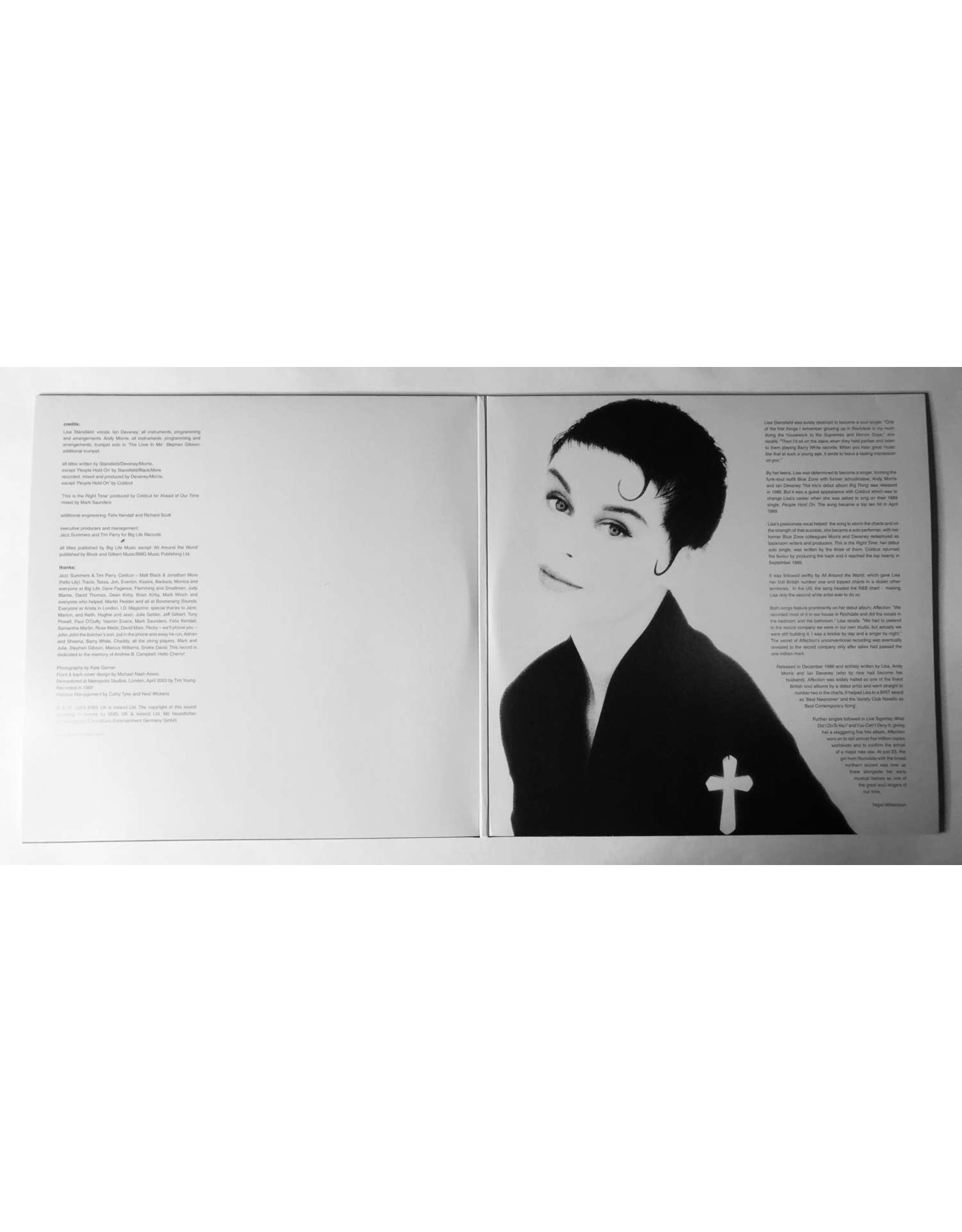 Lisa Stansfield - Affection (30th Anniversary)