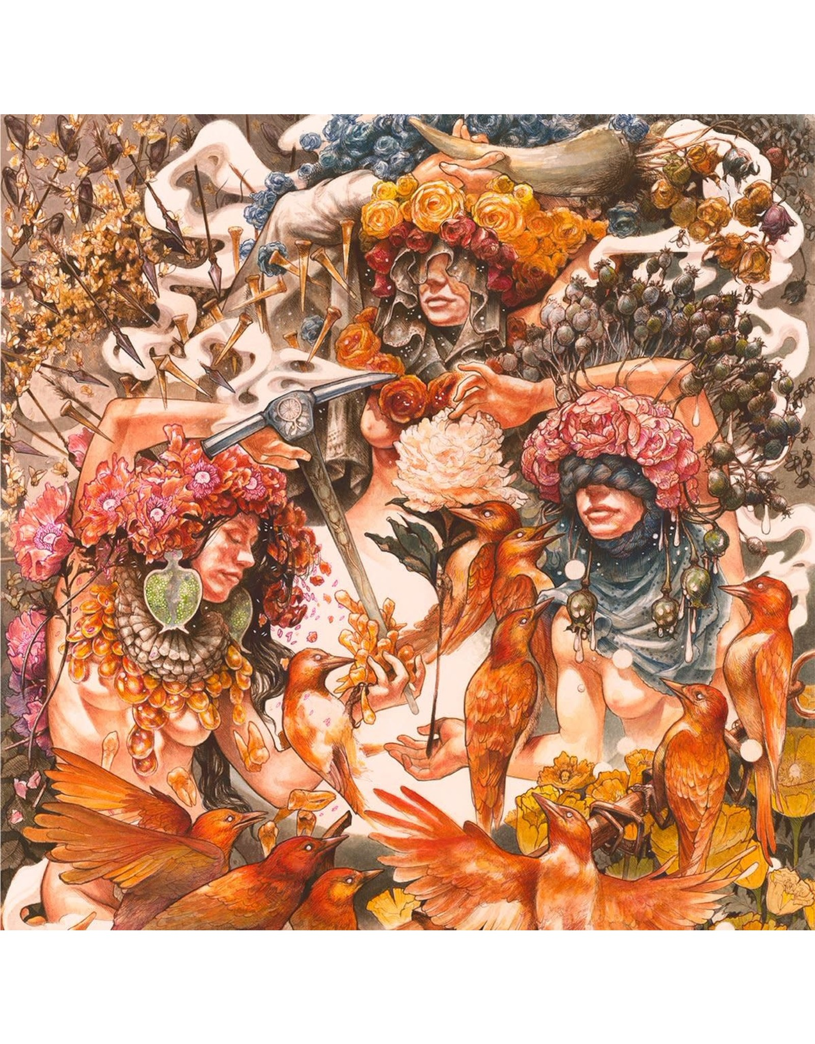 Baroness - Gold & Grey (Red / Blue Vinyl)