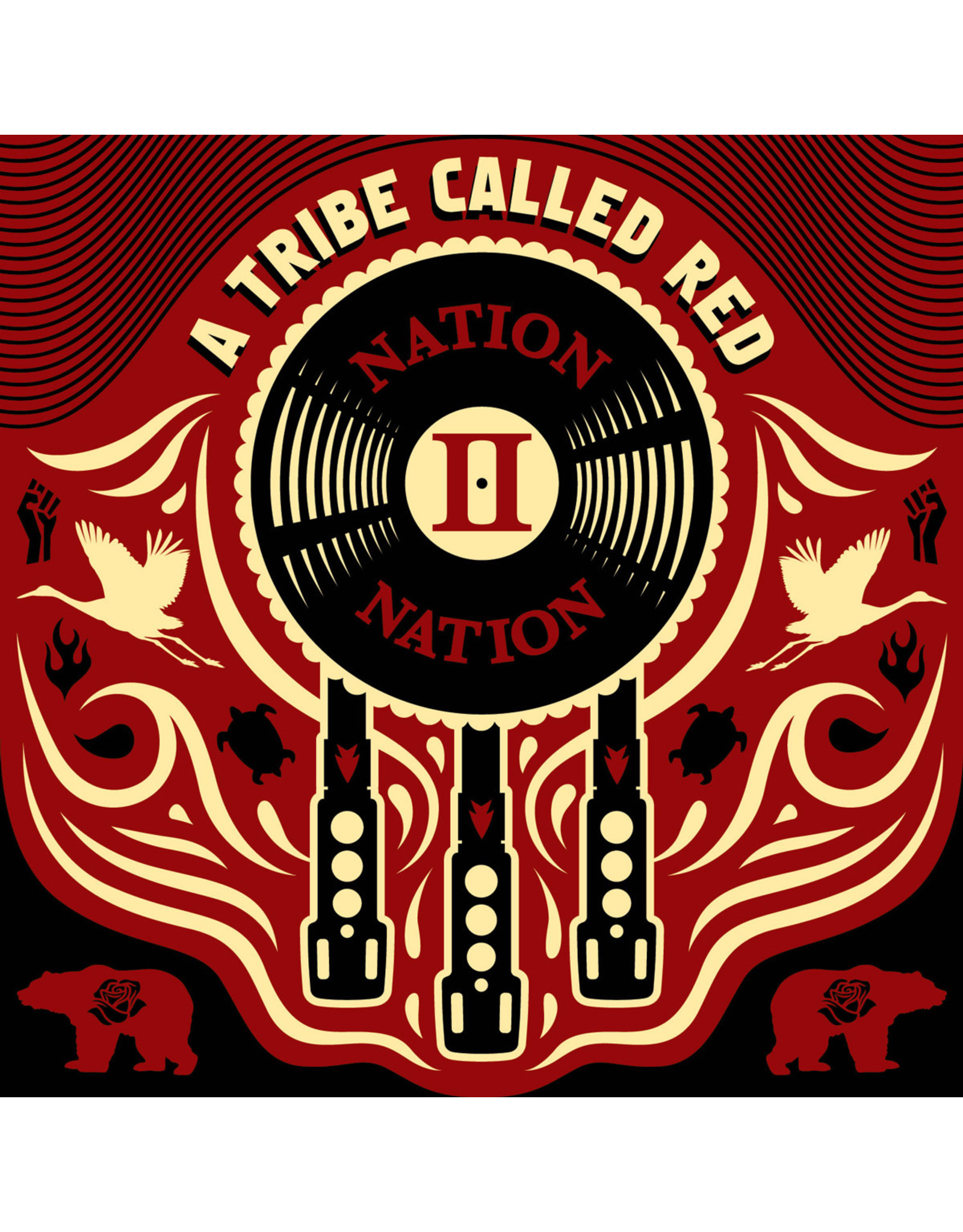 Tribe Called Red - Nation II Nation (Red Vinyl)