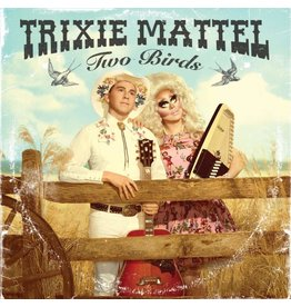 Trixie Mattel - Two Birds, One Stone (Clear / Pink Vinyl)