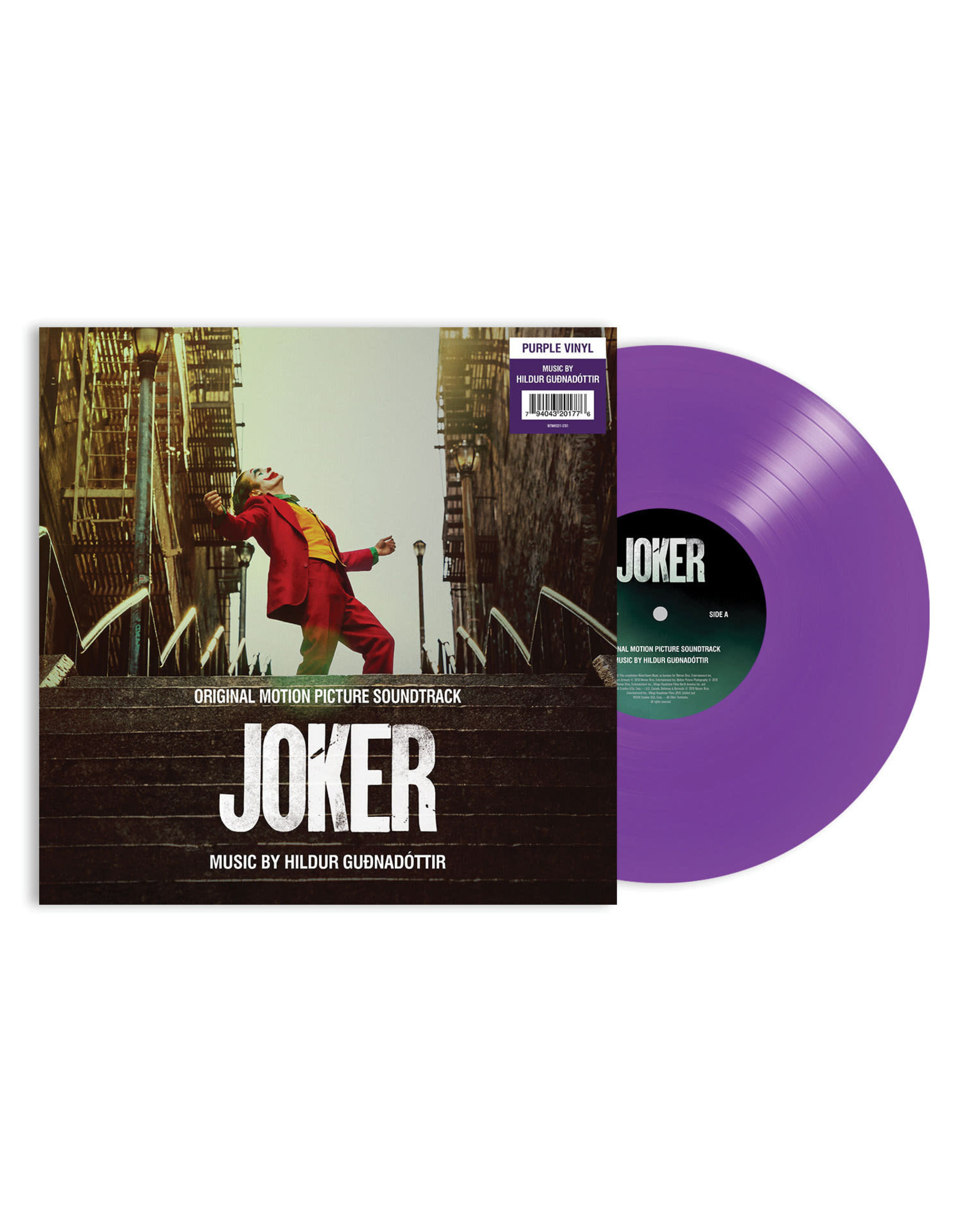 Hildur Gudnadottir - Joker (Original Motion Picture Soundtrack) [Purple Vinyl]