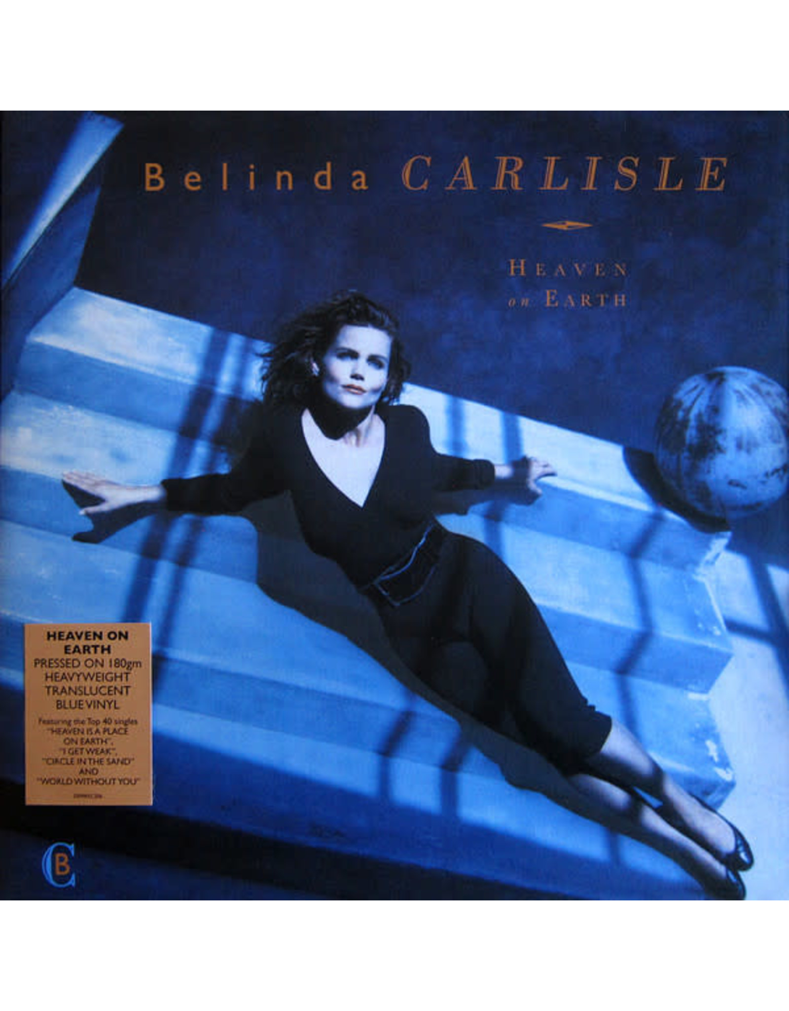 Belinda Carlisle - Heaven on Earth (Blue Vinyl)