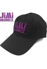 Jimi Hendrix / Distressed Logo Baseball Cap