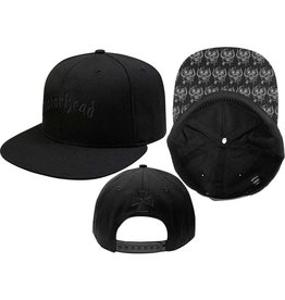 Motörhead / Classic Logo Snapback Cap