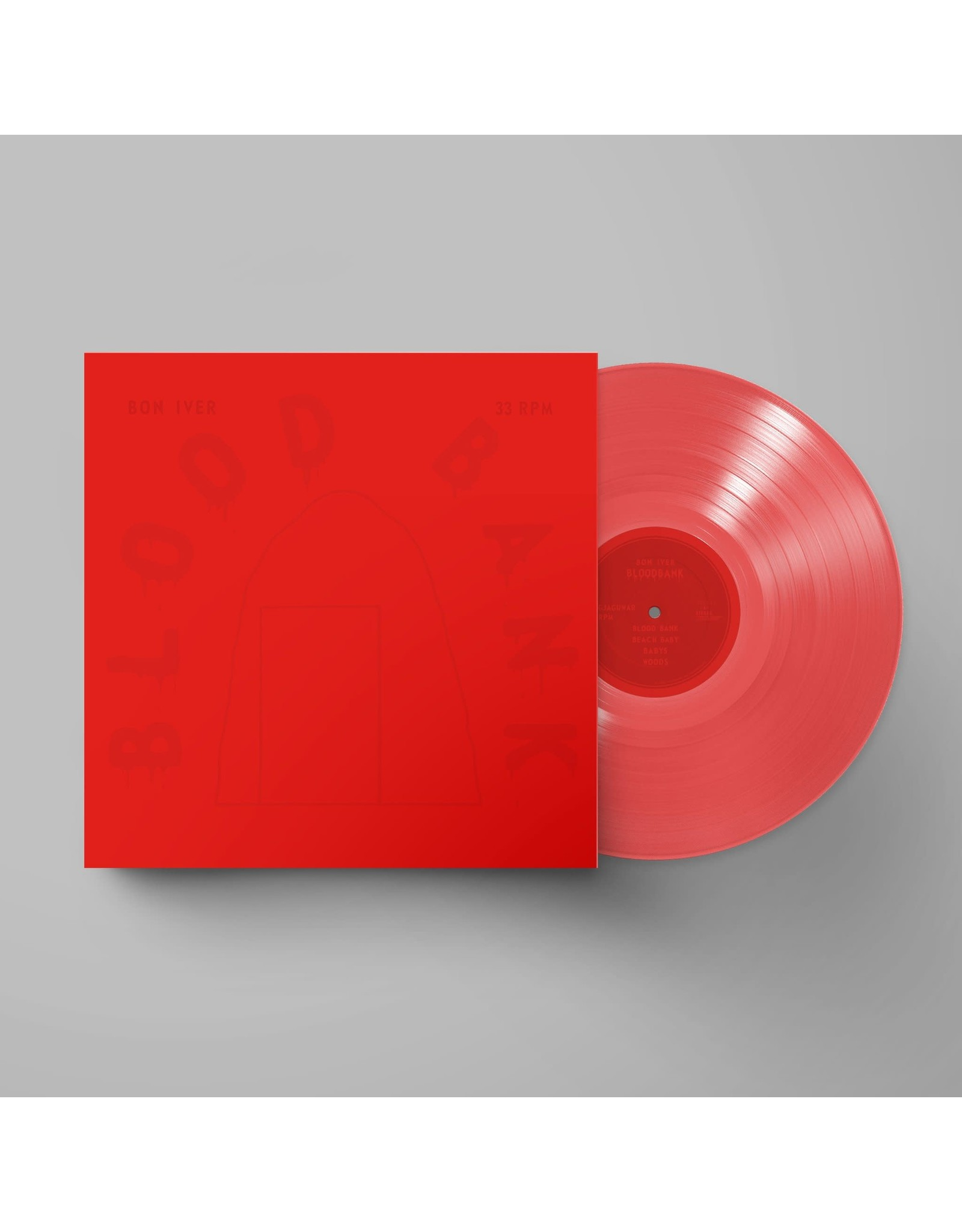 Bon Iver - Blood Bank EP (10th Anniversary Red Vinyl)