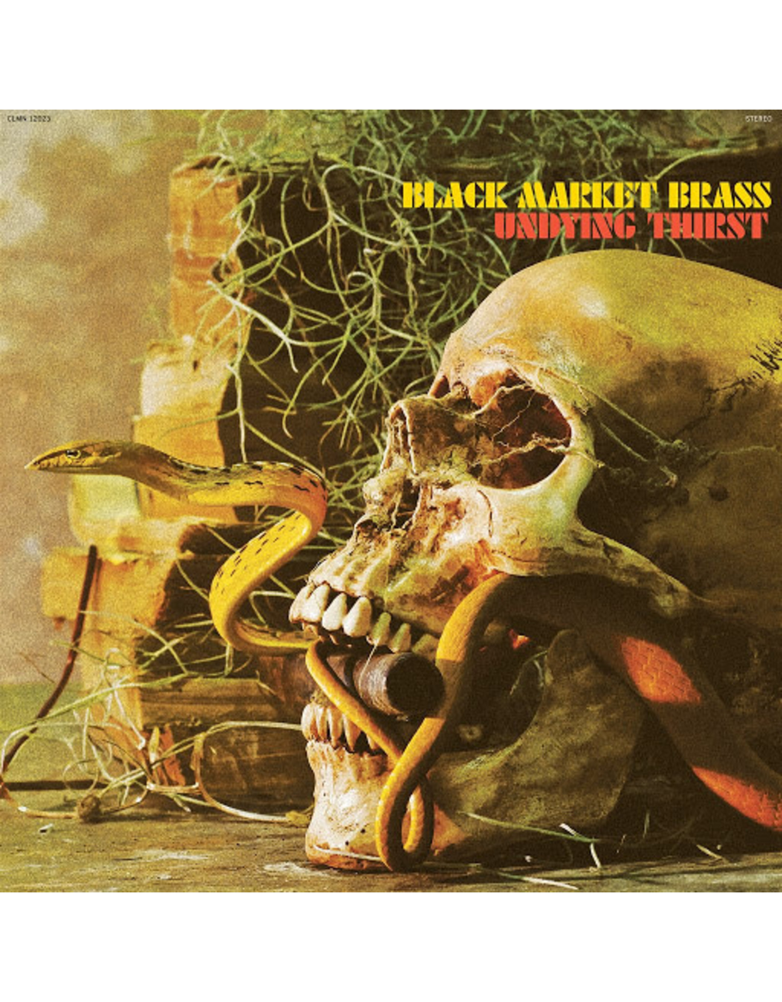 Black Market Brass - Undying Thirst (Exclusive Gold Vinyl)