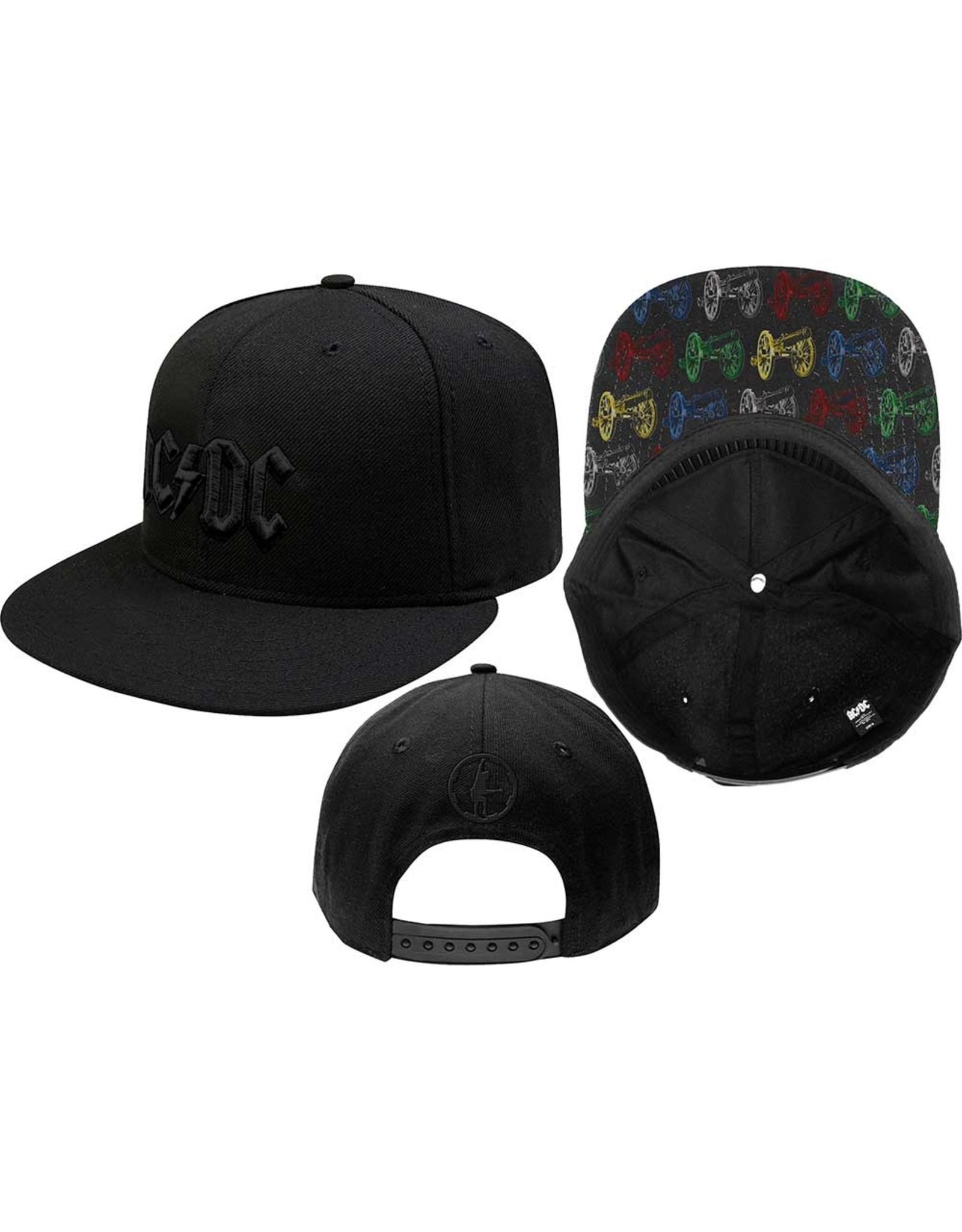 AC/DC / Classic Logo Snapback Cap