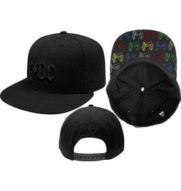 AC/DC / Canon Pop Art Snapback Cap