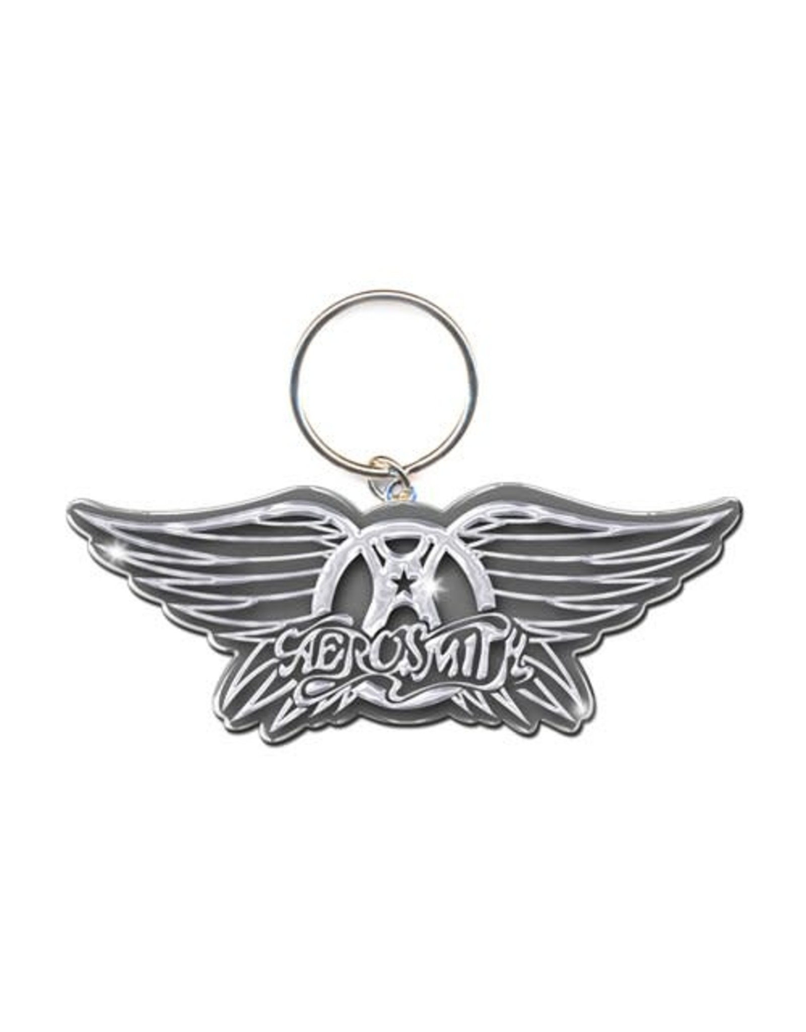Aerosmith / Classic Wings Logo Keychain