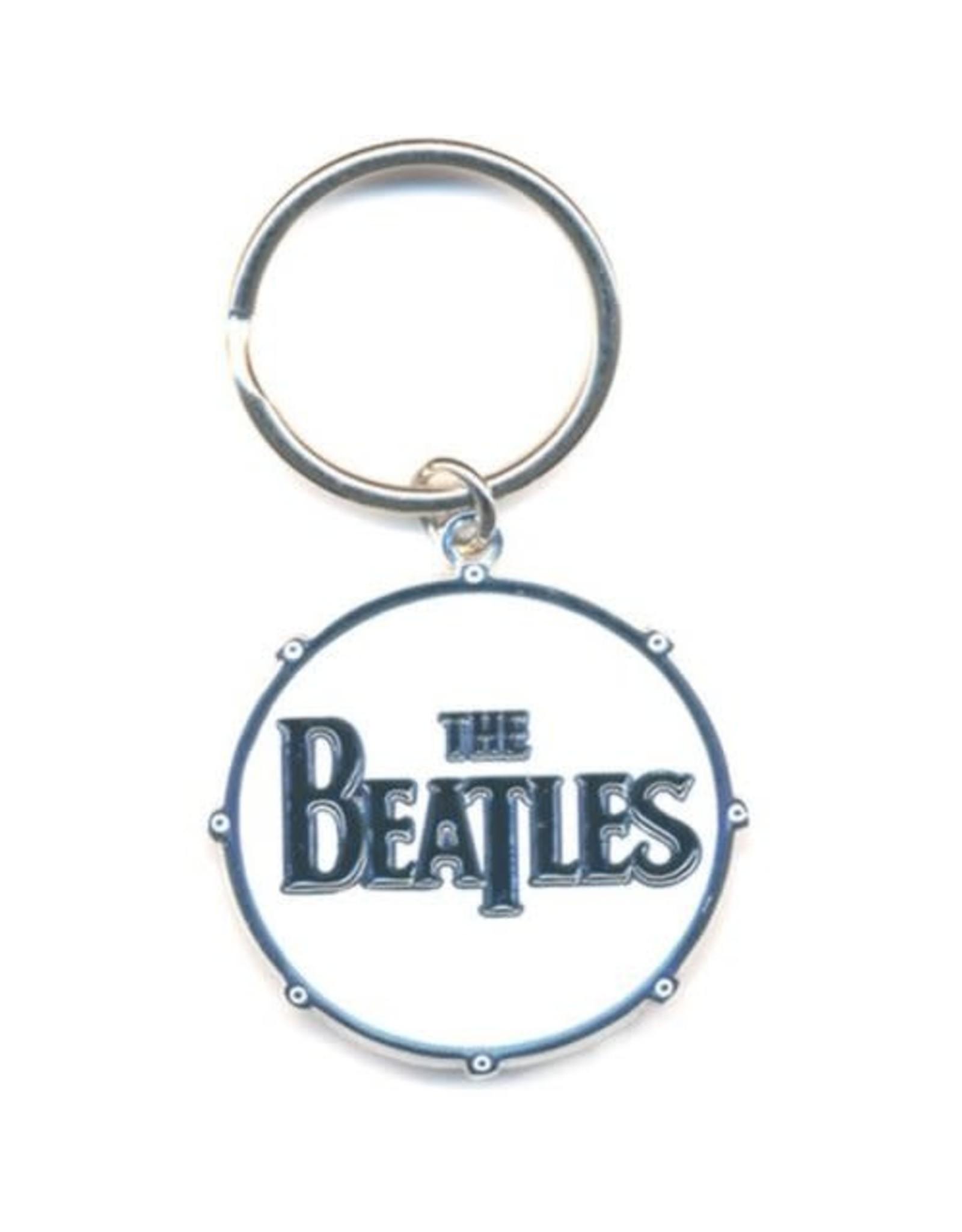 The Beatles / Drum Logo Keychain