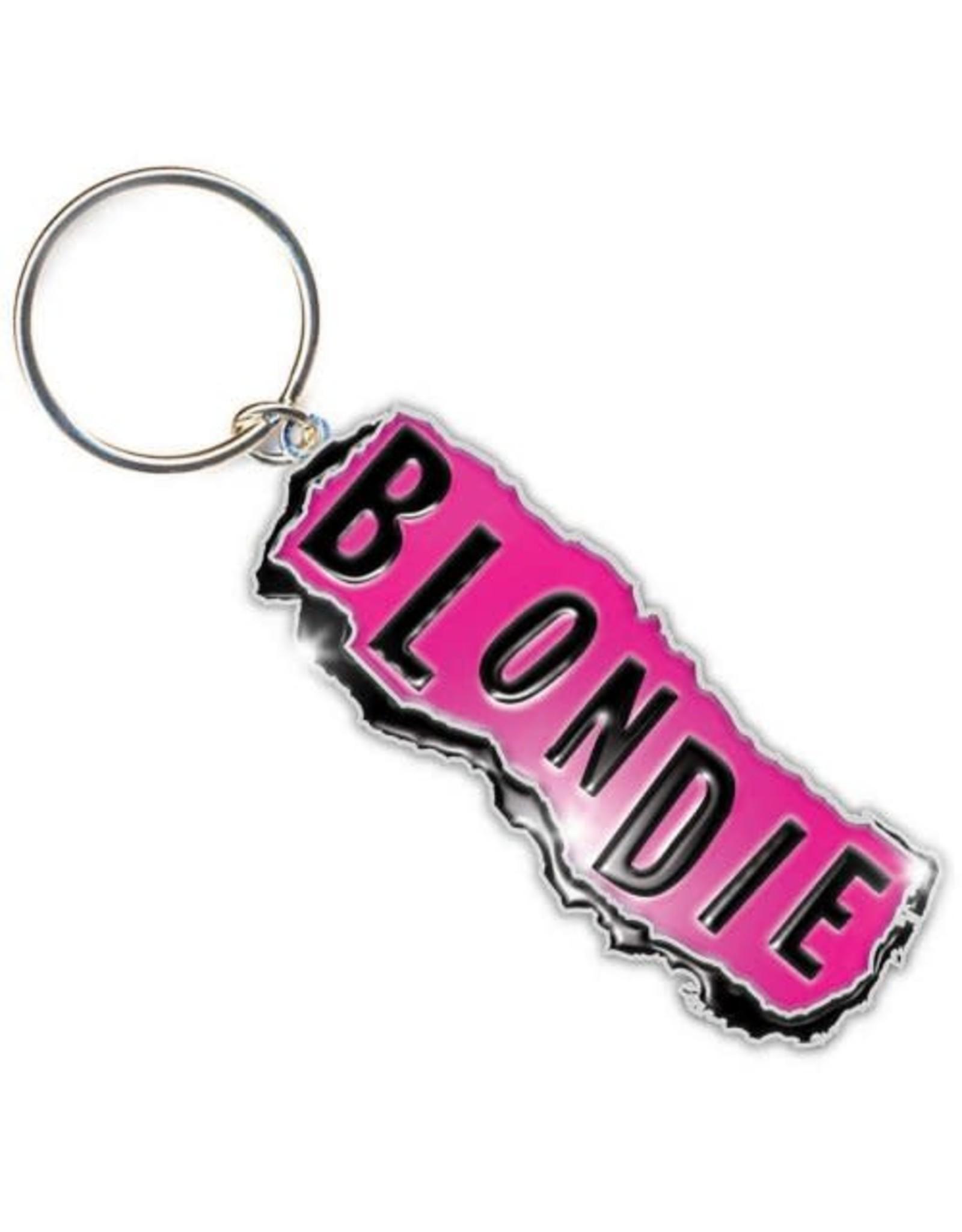 Blondie / Classic Logo Keychain