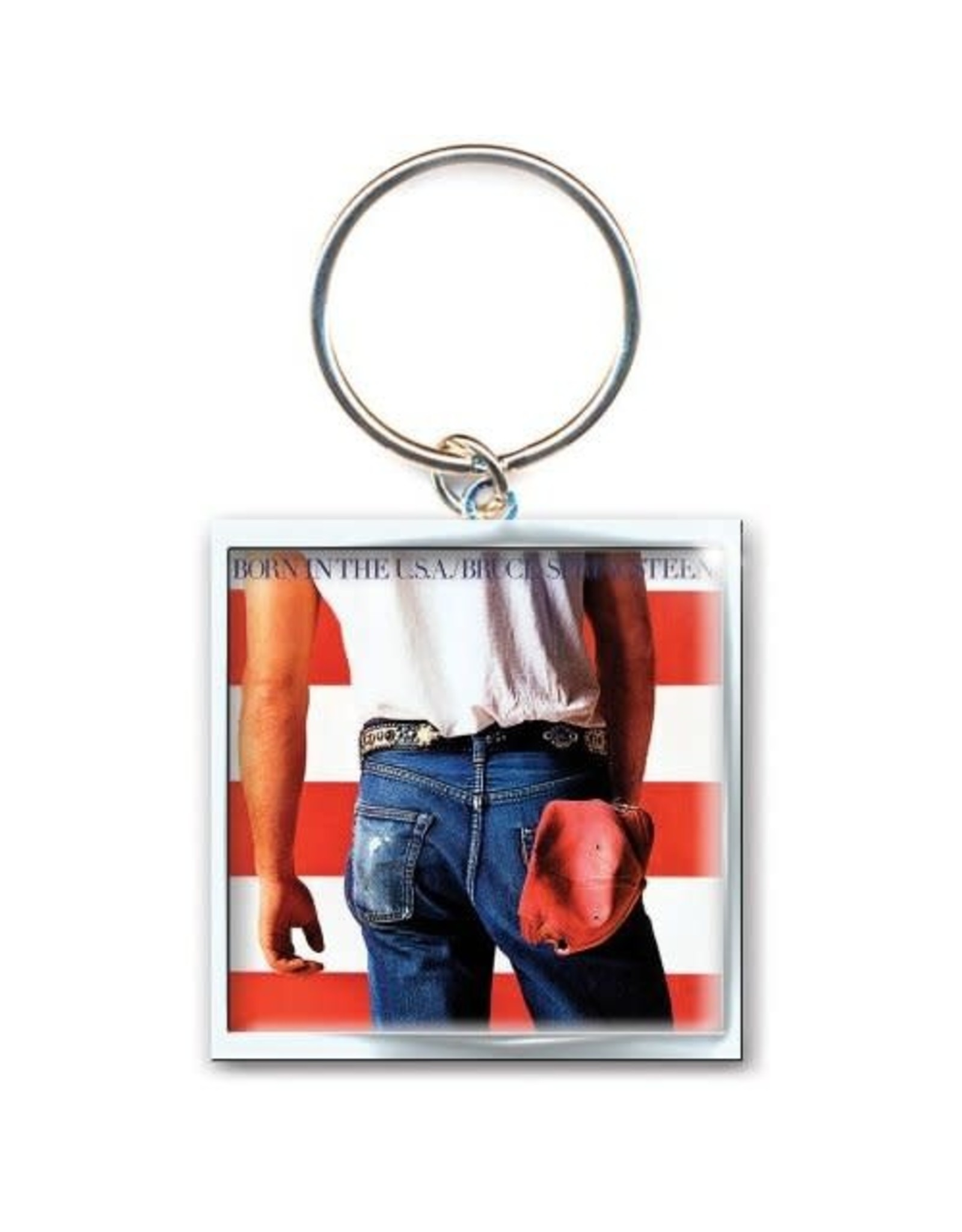 Bruce Springsteen / Born In The USA Keychain