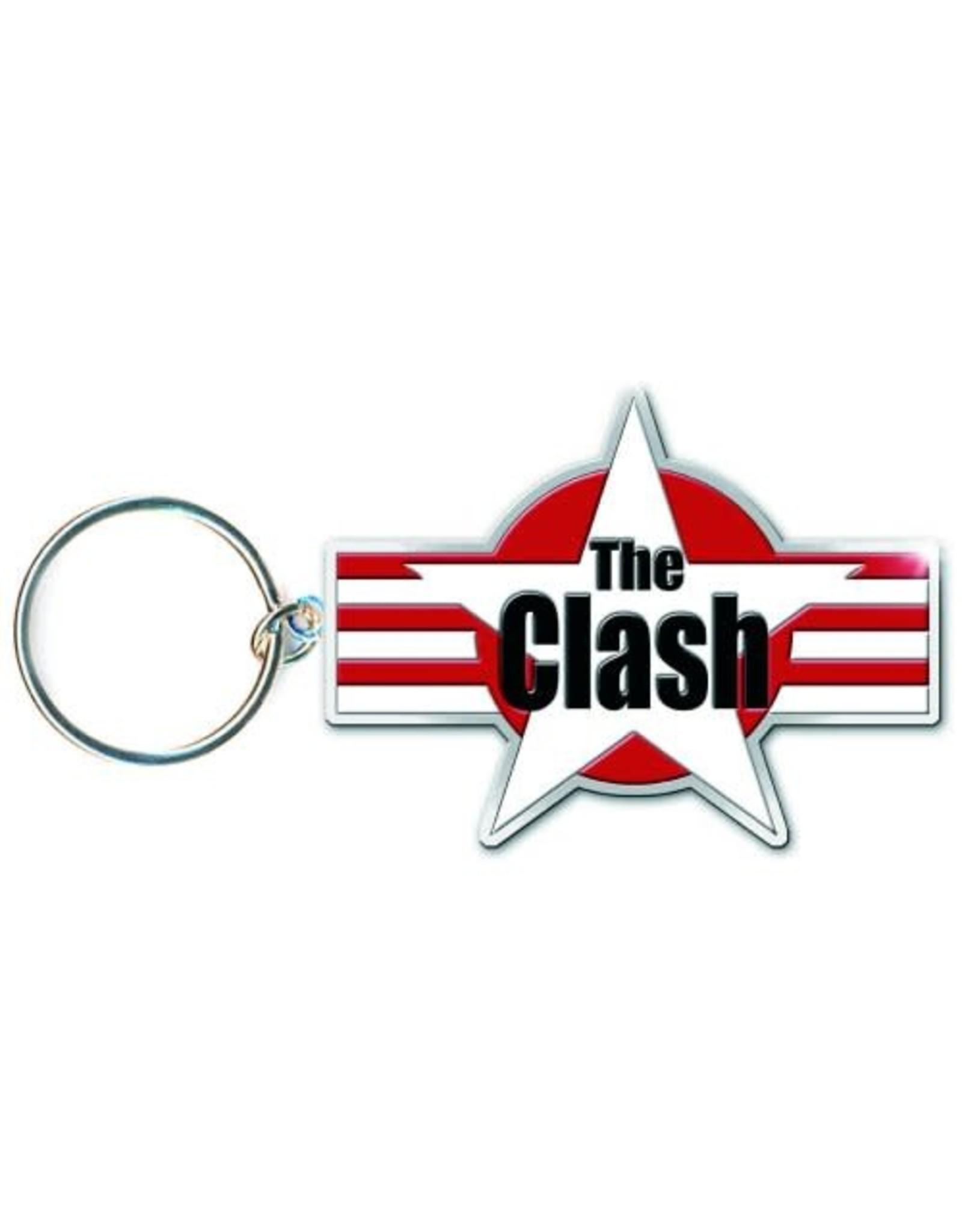 The Clash / Stars & Stripes Logo Keychain