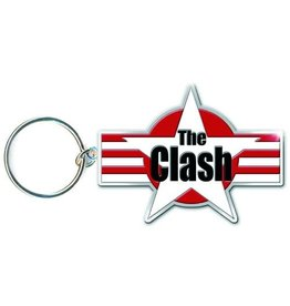 The Clash / Stars & Stripes Logo Keychain