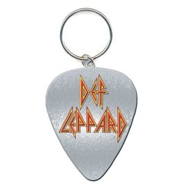 Def Leppard / Guitar Pick Keychain