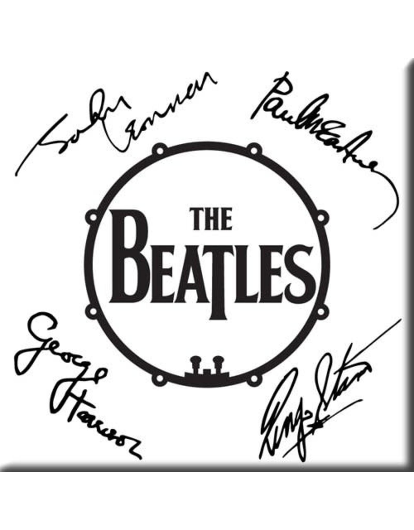The Beatles / Autographed Drum Magnet