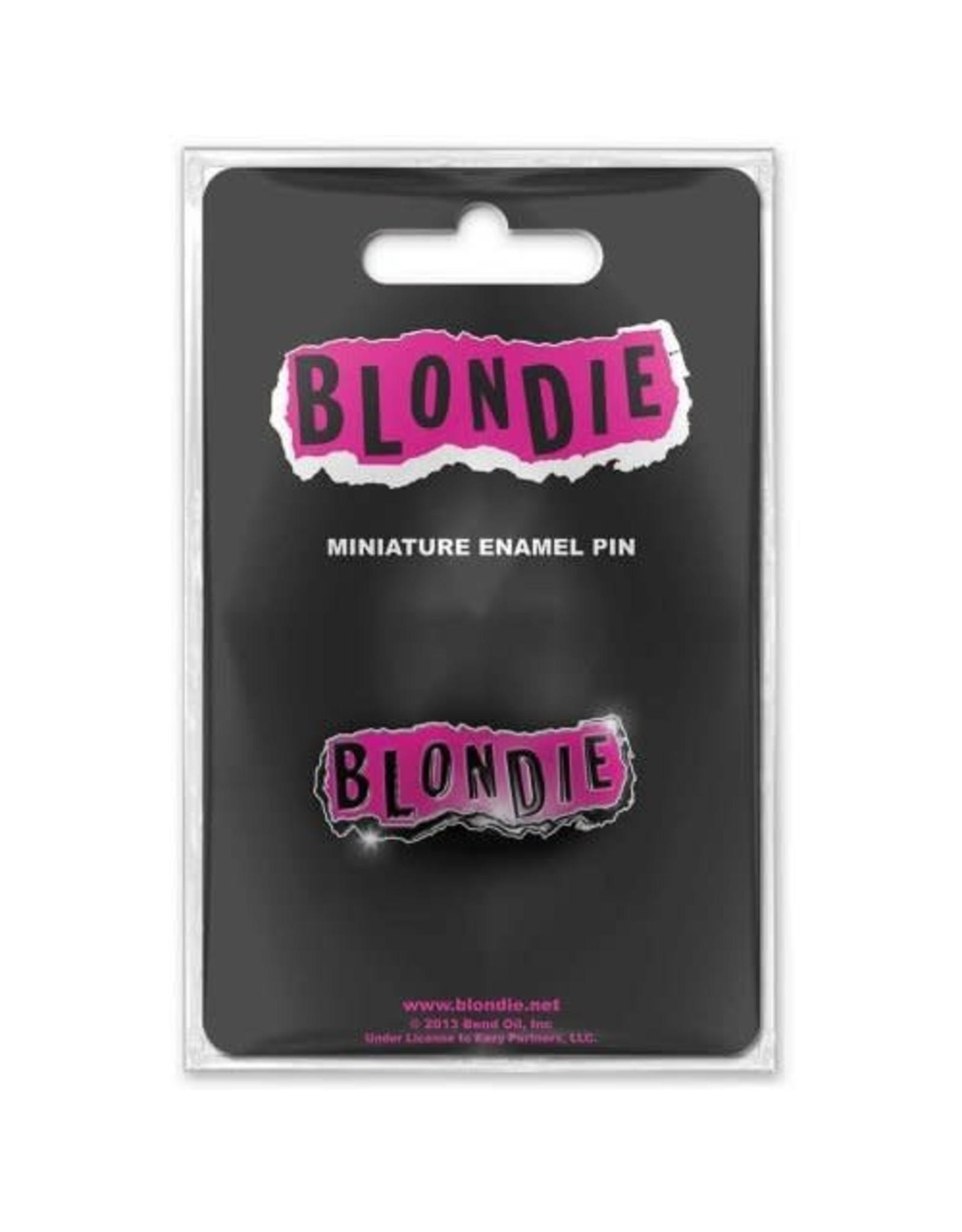Blondie / Classic Logo Mini Pin