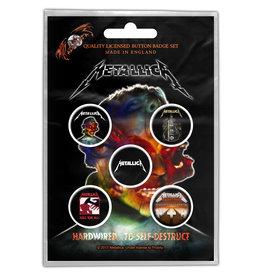 Metallica / Classic Album Button Pack