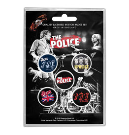 The Police / Classic Albums Button Pack
