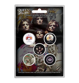 Queen / Classic Albums Button Pack