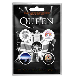 Queen / Freddie Mercury Button Pack
