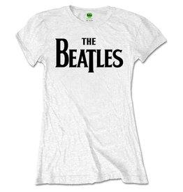 The Beatles / Drop T Logo Women's Premium Tee