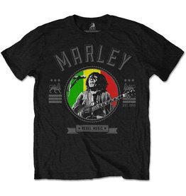 Bob Marley / Rebel Music Tee