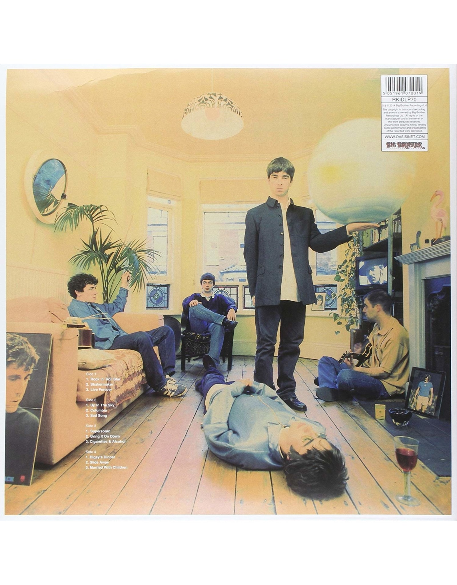 Oasis - Definitely Maybe (20th Anniversary)
