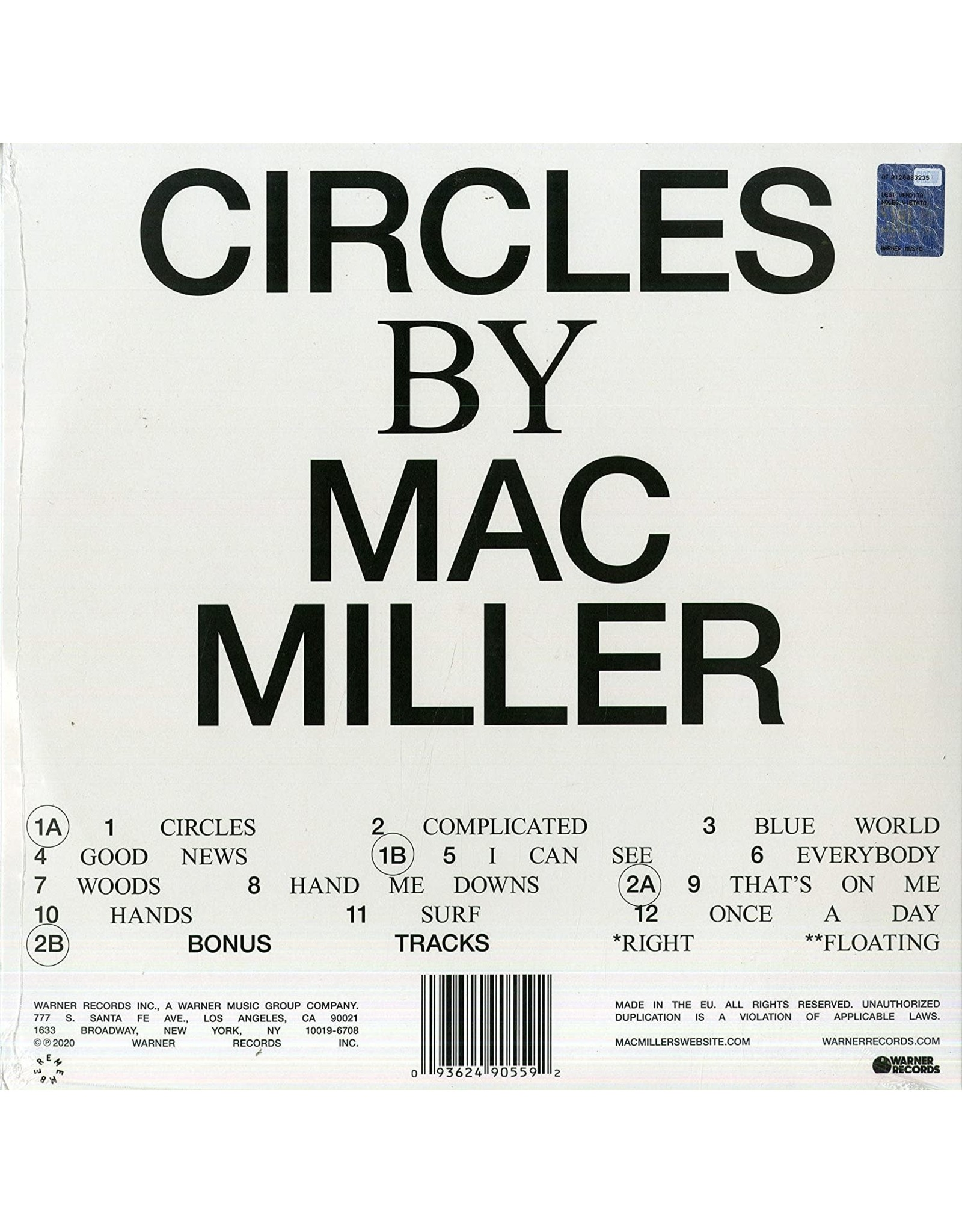 Mac Miller - Circles (Deluxe Edition)