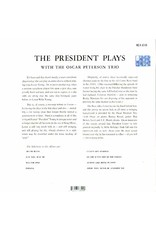 Oscar Peterson Trio - The President Plays With The Oscar Peterson Trio