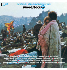 Various - Woodstock: Music From The Original Soundtrack & More (Blue & Pink Vinyl)