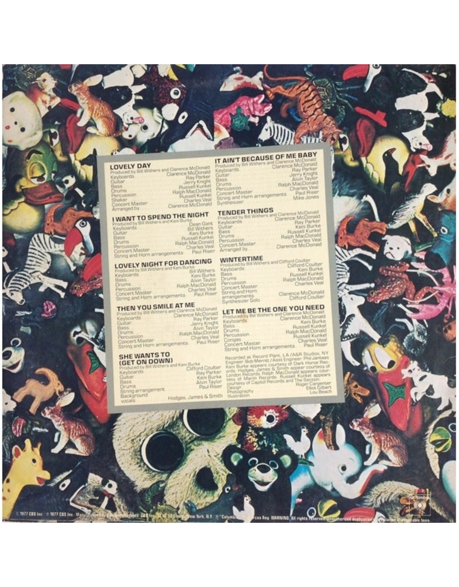 Bill Withers - Menagerie (Music On Vinyl)
