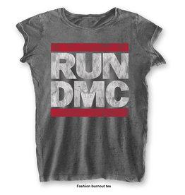 RUN DMC / Classic Logo Women's Burnout Tee