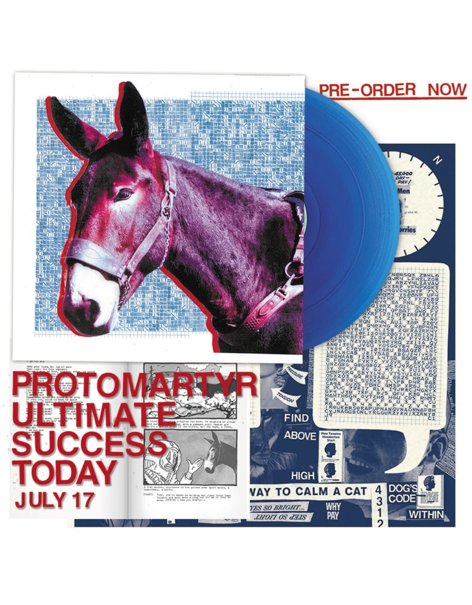 Protomartyr - Ultimate Success Today (Exclusive Blue Vinyl)