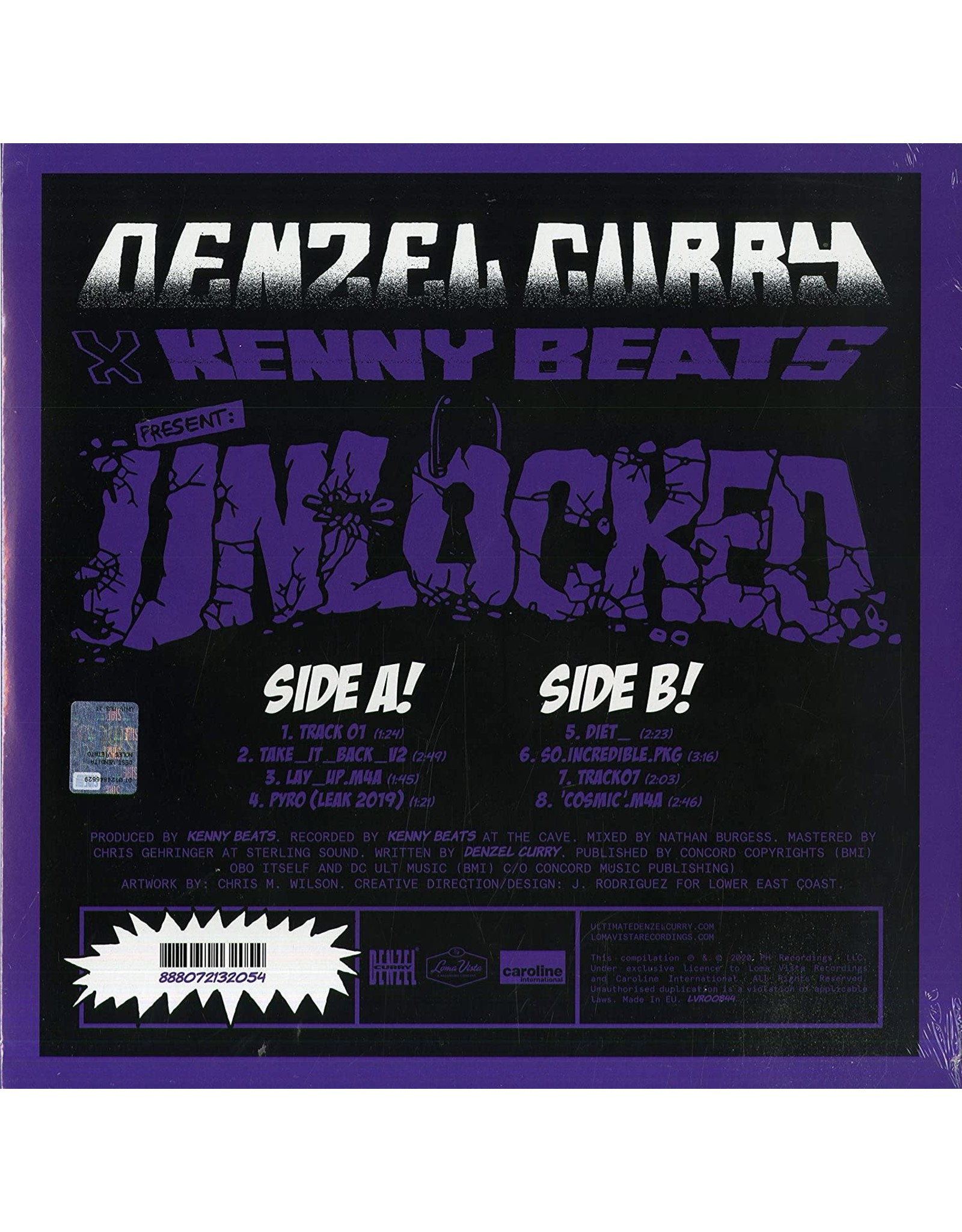 Denzel Curry / Kenny Beats - Unlocked
