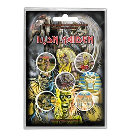 Iron Maiden / Classic Albums Button Pack