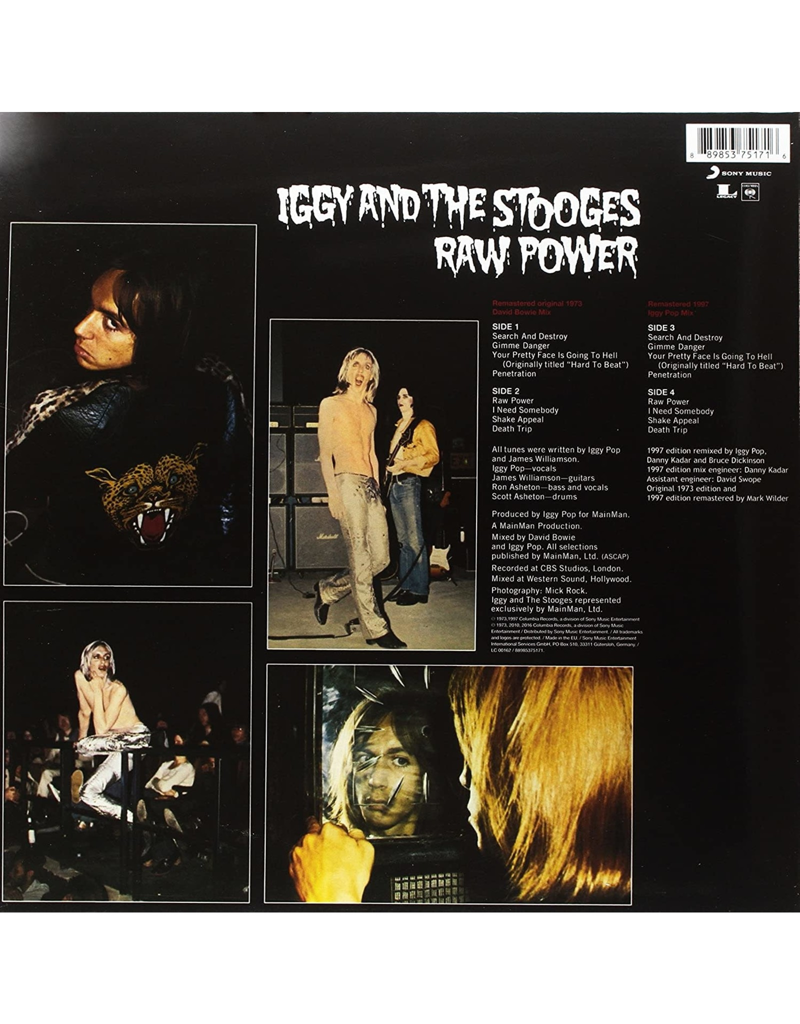 Iggy & The Stooges - Raw Power (Legacy Edition)