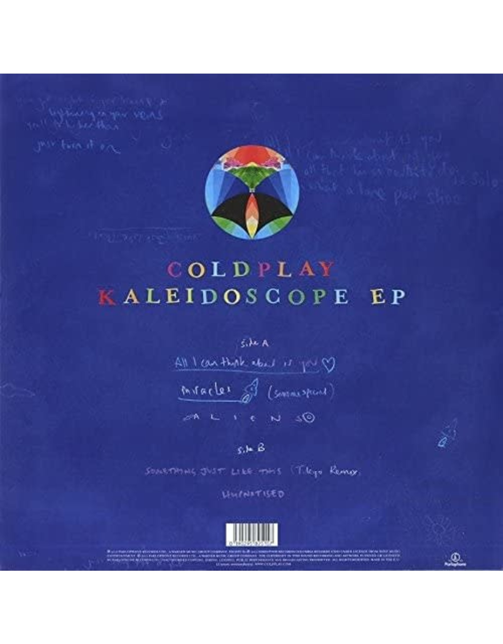 Coldplay - Kaleidoscope EP (Blue Vinyl)