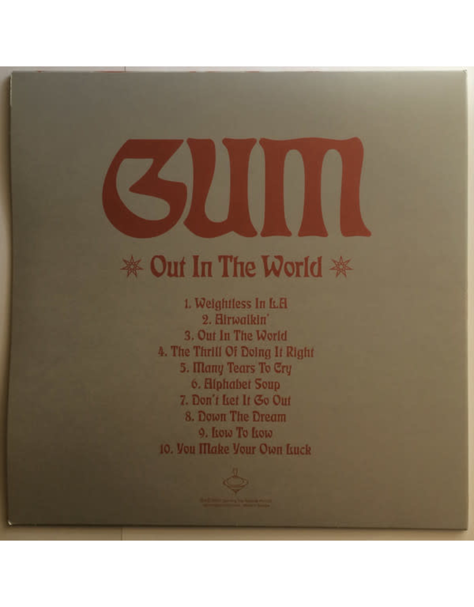 Gum - Out In The World (Exclusive Baby Blue Vinyl)