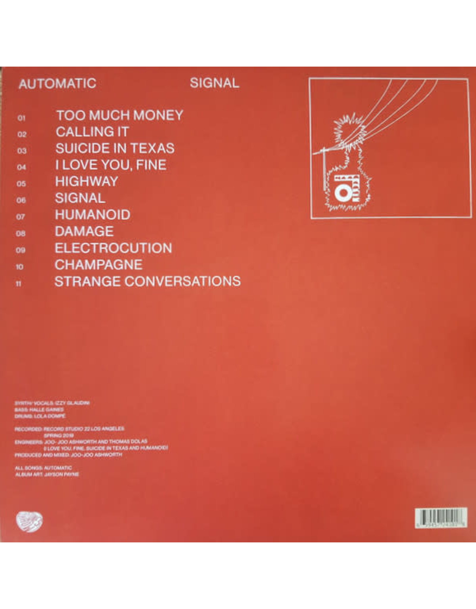 Automatic - Signal (Exclusive Red Vinyl)