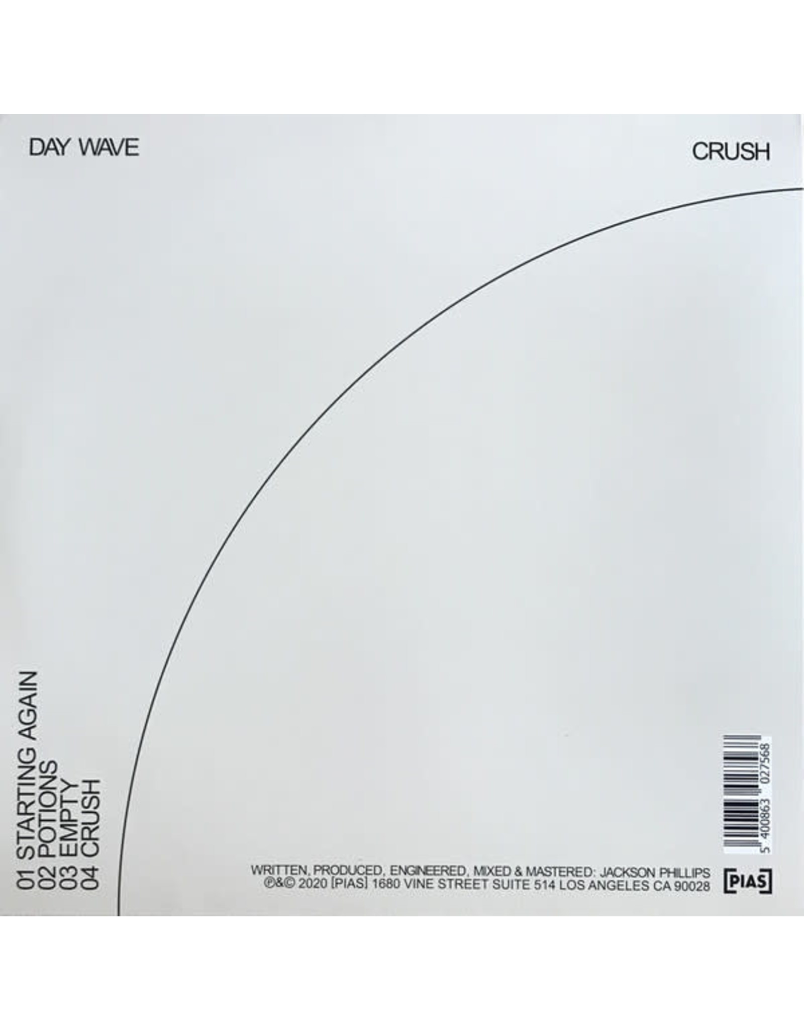 Day Wave - Crush (EP)