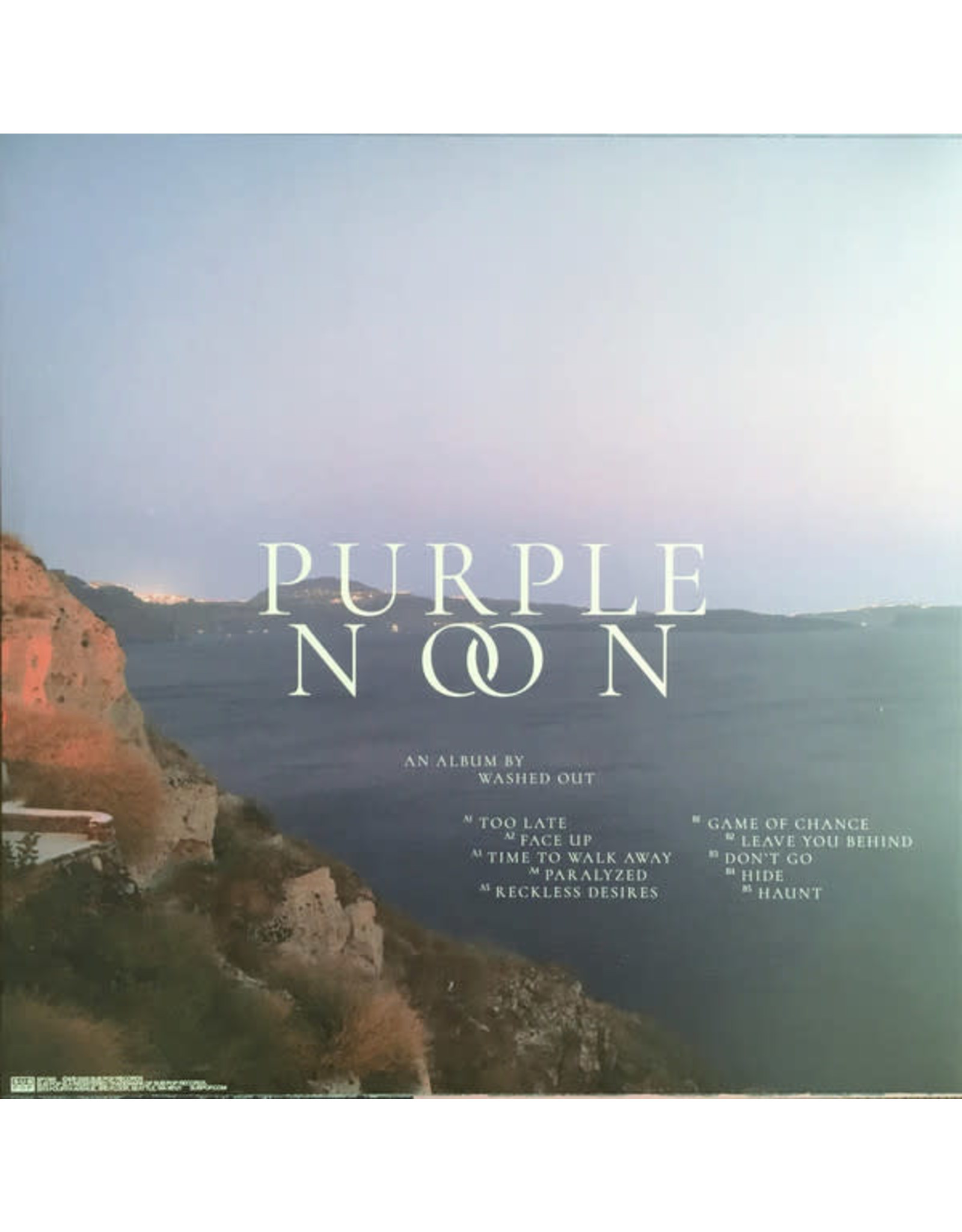 Washed Out - Purple Noon (Clear Loser Edition)